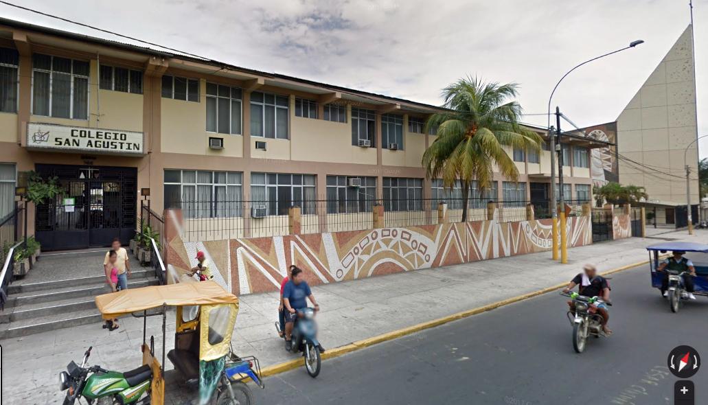 Patio del Colegio San Agustin